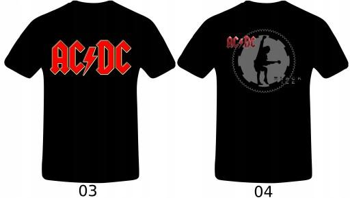 AC/DC T-Shirt Koszulka 32 WZORY !! 3XL 9910123199 Odzież Męska T-shirty VI MWBRVI-3
