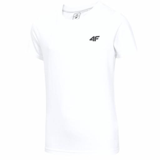 Koszulka Chłopięca 4f Bawełniana T-Shirt 158
