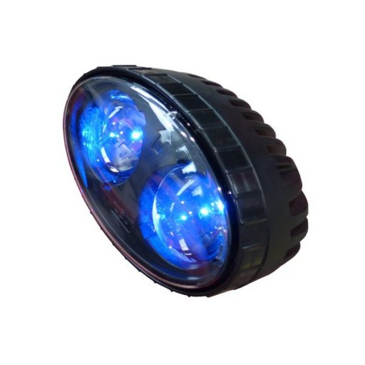ZIBINTAS (LEMPOS-FAROS) ISPEJAMOJI CATERPILLAR CAT LED BLUE SPOT