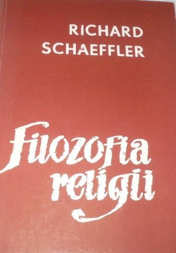 Książka Richard Schaeffler Filozofia religii