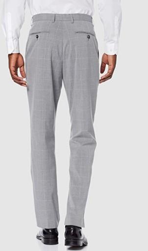 Męskie spodnie garniturowe find., r. W34xL33 10724319087 Odzież Męska Spodnie ME JXLBME-1