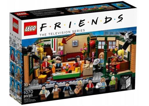 LEGO IDEAS 21319 CENTRAL PERK SERIAL PRZYJACIELE