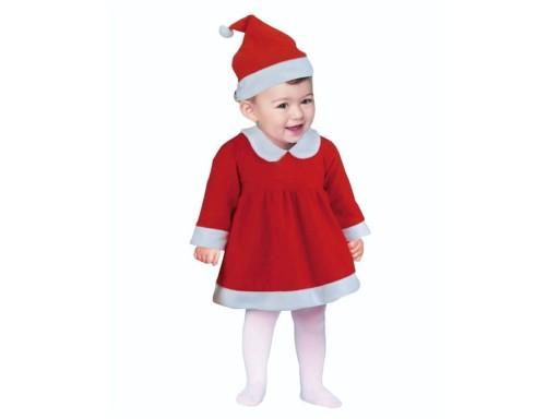 Stroj Kostium Mikolajki Dla Dziecka Swieta 6 12mc 9296761125 Allegro Pl