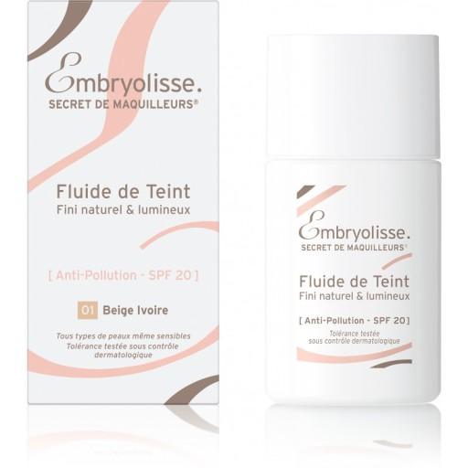 Embryolisse Fluide De Teint podkład 01 Ivory