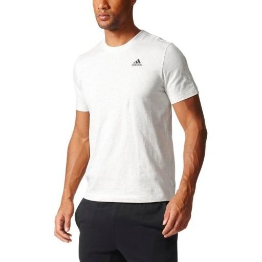 ADIDAS KOSZULKA B47356 ESS BASE TEE BIAŁY XL 8859930769 Odzież Męska T-shirty LN DOSXLN-1