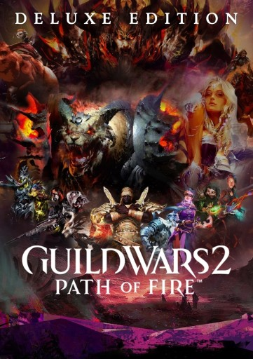 Guild Wars 2 The Path Of Fire Deluxe Pc Arenanet Stan Nowy 7821371563 Allegro Pl