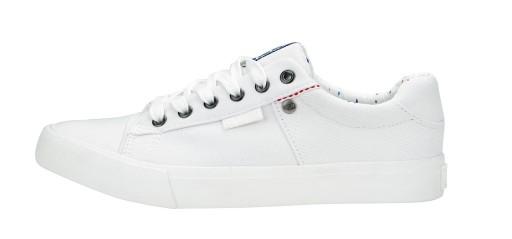 TRAMPKI męskie BIG STAR buty tenisówki BIAŁE 42 8866454474