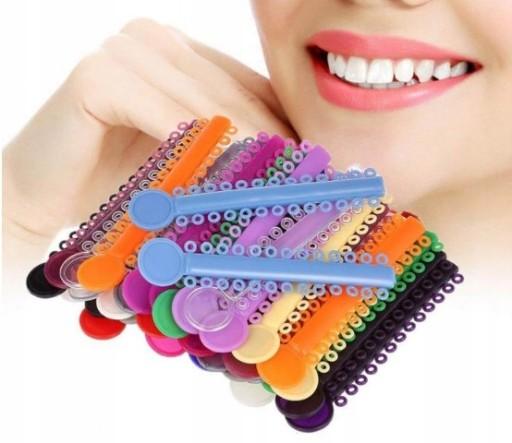 10x Gumki Na Aparat Ortodontyczny Ligaturki Kolor 9861154802 Allegro Pl