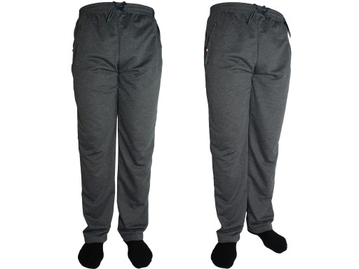 Spodnie dresowe męskie 2XL / 3XL Duże Wygodne 10065117350 Odzież Męska Spodnie MP GGKAMP-1