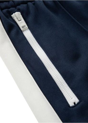 Spodnie dresowe Raglan Pit Bull (L) Granatowe 10714156781 Odzież Męska Spodnie BJ ADYBBJ-4