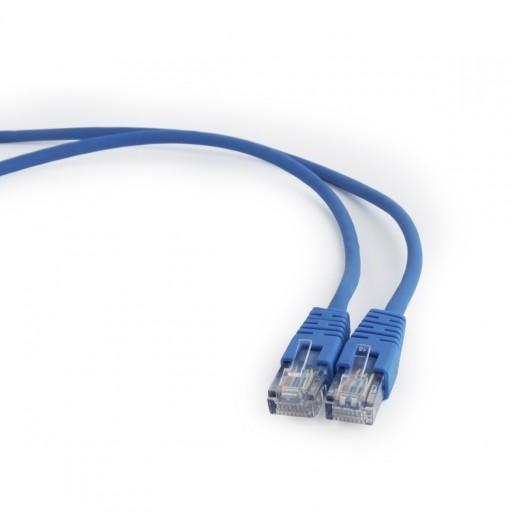 Patch cord kat.5e osłonka zalewana 0.5M niebieski