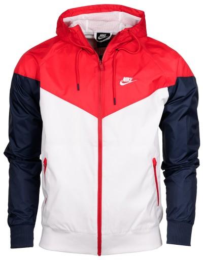 Nike Kurtka Z Kapturem Meska Wiatrowka Roz Xl 9153494850 Allegro Pl