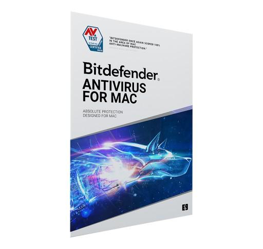 Bitdefender Antivirus for MAC 2021 3st / 3Lata