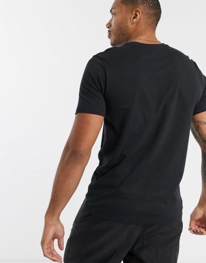 NIKE T-SHIRT MĘSKI CZARNY KLASYCZNY LOGO S 2XAB 10783162389 Odzież Męska T-shirty AK JGBLAK-4