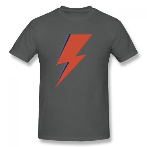 david bowie lightening meski podkoszulek t-shirt 10690220683 Odzież Męska T-shirty CN PWPJCN-5
