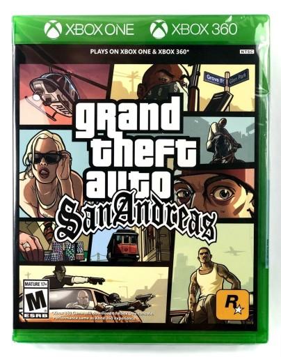 Gta Sa San Andreas Nowa Gra Xbox 360 One Series X Stan Nowy 9984612748 Allegro Pl