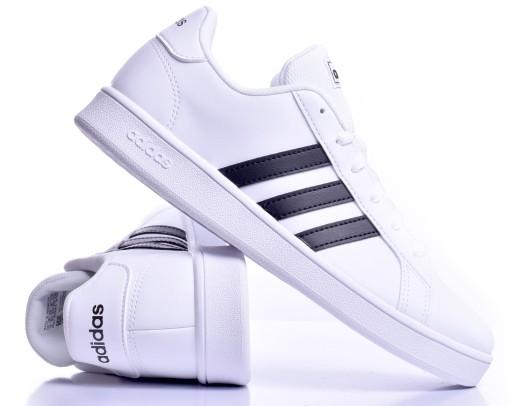 Buty Damskie Adidas GRAND COURT Wygodne r.38,5 BIA