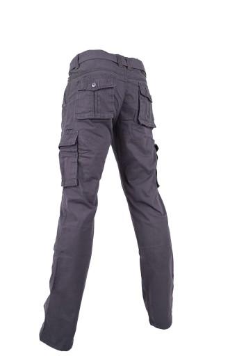 SPODNIE męskie bojÓwki szare ITENO 40 pas 108-110 10720258929 Odzież Męska Spodnie EL GRXDEL-3