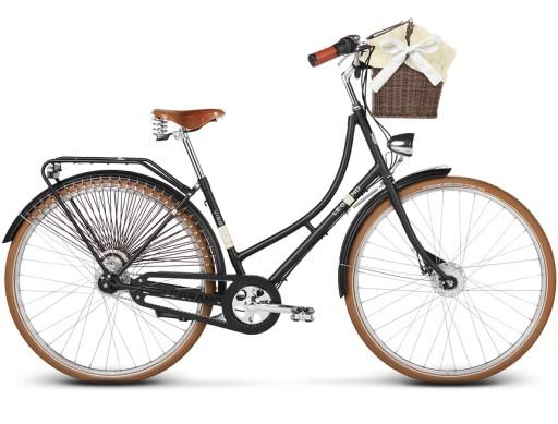 Rower Miejski Le Grand Virginia 3 28 M czarny mat