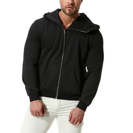 Sweter męski Jesienna bluza z kapturem i długim rę 9626524928 Odzież Męska Swetry MW MMFBMW-3