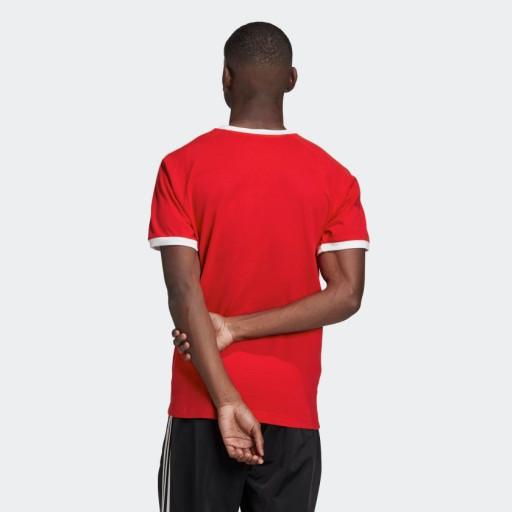 ADIDAS T-SHIRT CZERWONY MĘSKI LAMPAS LOGO XL YAB 10777028655 Odzież Męska T-shirty JI ZKQJJI-6