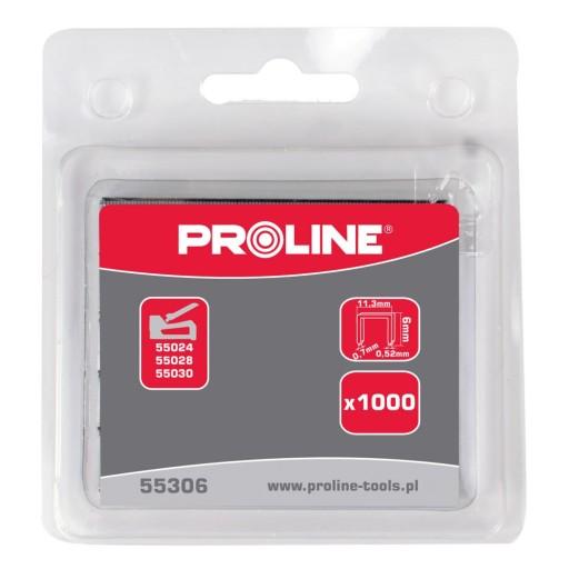 55312 Zszywki hartowane typ 53, 12mm, Proline 10741382161 Odzież Męska Pozostałe PY QGRYPY-8