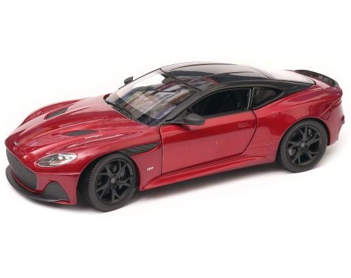 Aston Martin Dbs Superleggera 1 24 Welly Czerwony 9593399284 Allegro Pl