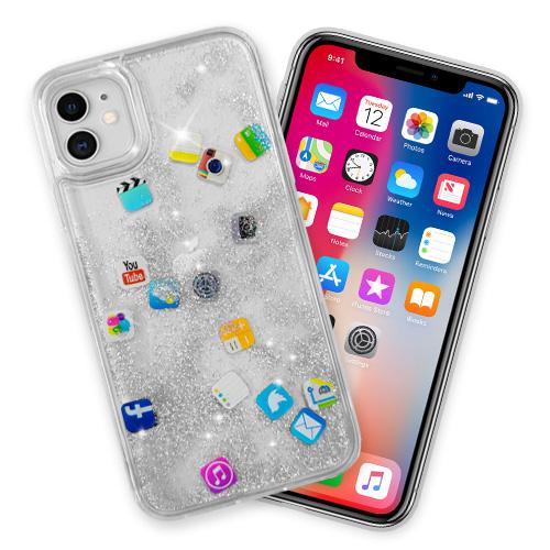 Brokat Srebrny Icon Case Do Apple Iphone 11 8653682515 Sklep Internetowy Agd Rtv Telefony Laptopy Allegro Pl