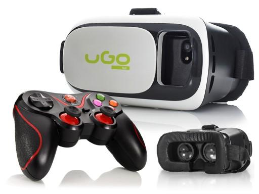 Okulary do wirtualnej rzeczywistości VR 3D+GamePad