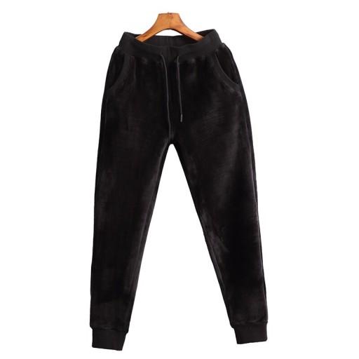Spodnie dresowe męskie joggery Męskie zimowe ciepł 10639318783 Odzież Męska Spodnie XJ UXGUXJ-1