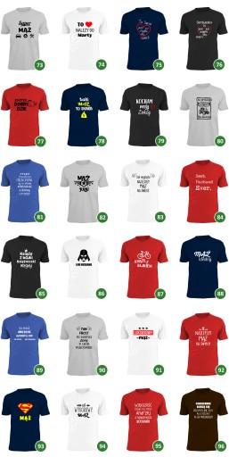 koszulka taki mąż to skarb prezent dzień chłopaka 9643562532 Odzież Męska T-shirty CE HHZTCE-4