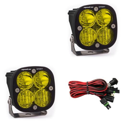 Zestaw LED Driving/Combo Squadron Sport Amber Baja