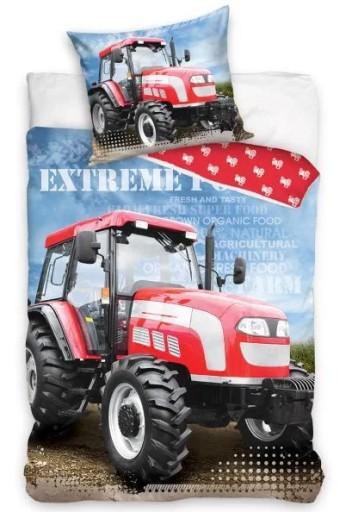 Posciel Traktor Koparka Wywrotka Bawelna 160x200 7535306913 Allegro Pl