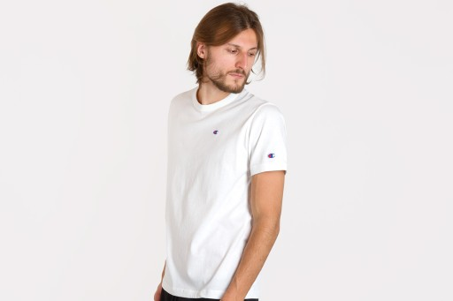 CHAMPION CREWNECK 214674-WW001 KOSZULKA MĘSKA 10093528861 Odzież Męska T-shirty IQ GPILIQ-4