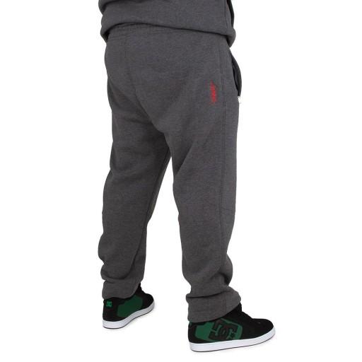 Spodnie dresowe Chillout Tager BIG szare Size 5XL 10439015951 Odzież Męska Spodnie DB YILFDB-8