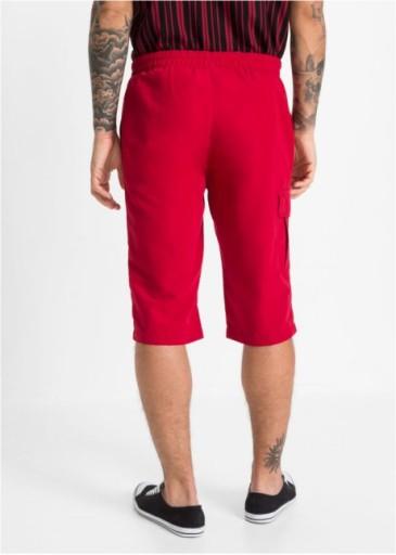 *B.P.C spodenki bermudy czerwone męskie r.50 10768140887 Odzież Męska Spodenki LR DKWKLR-3