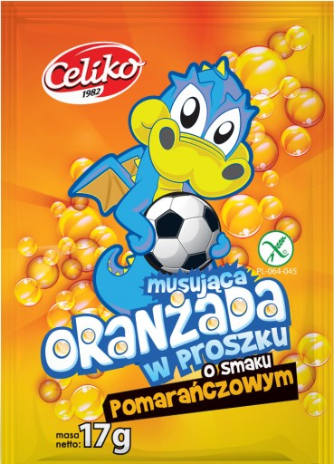 Oranzada W Proszku Quot Pomarancza Quot 40 Szt 8888094756 Allegro Pl