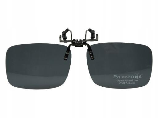 Nakładka przeciwsłoneczna z polaryzacją na okulary PolarZONE