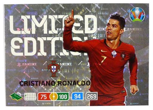 Panini Uefa Euro 2020 Karta Limited Ronaldo 9123528006 Allegro Pl