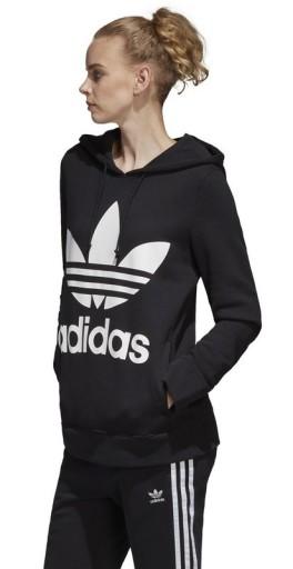 Bluza damska adidas czarna S97085 | Czarny | Profesjonalny