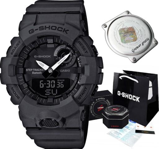 Casio GBA-800-1AER G-SHOCK zegarek męski bluetooth