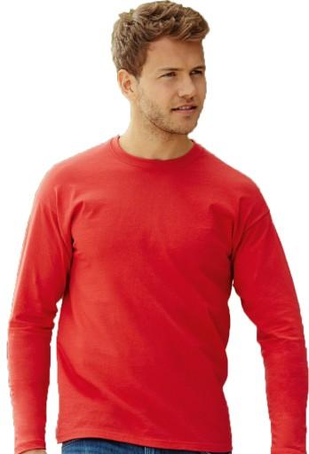 Bluzka męska z długim rękawem Fruit biała M 9910563069 Odzież Męska Koszulki z długim rękawem LX HEGTLX-7