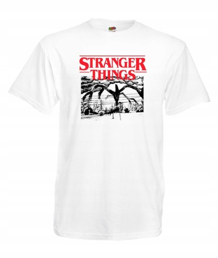 XL KOSZULKA MĘSKA STRANGER THINGS DEMOGORGON 10592535696 Odzież Męska T-shirty GI DDWRGI-8