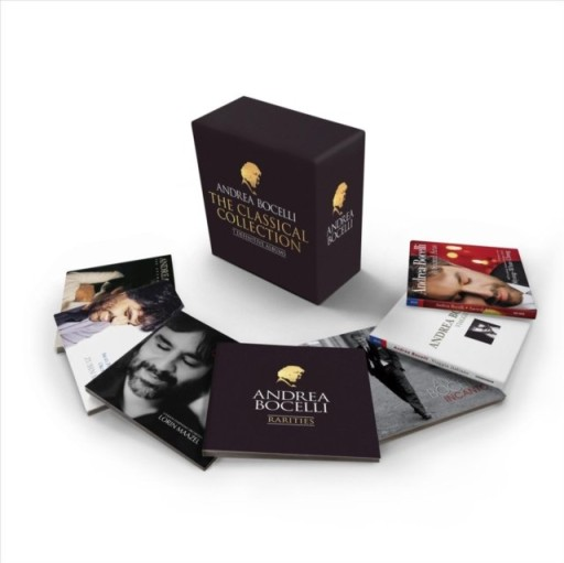 ANDREA BOCELLI The Complete Classical Albums 7CD