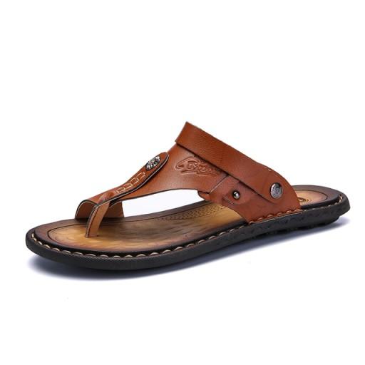 Men's Sandals Men's Flip Flops Comfortable Shoes 10787648660 Obuwie Męskie Męskie IH CMYQIH-3