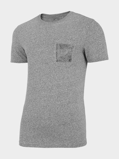 T-SHIRT MĘSKI 4F KOSZULKA TSM220 D4L21 10683971391 Odzież Męska T-shirty JI GDJGJI-7
