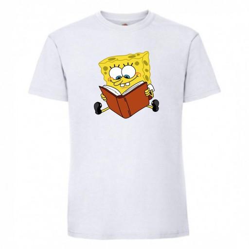 T-SHIRT KOSZULKA SPONGEBOB 9790562929 Odzież Męska T-shirty RI STPFRI-6