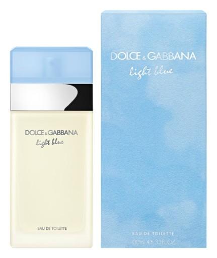 DOLCE & GABBANA LIGHT BLUE 100 ml EDT GRATISY