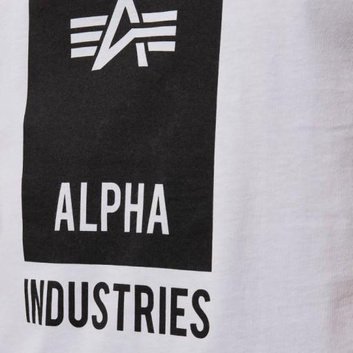 Alpha Industries Block Logo T 126547 09 L 10083310600 Odzież Męska T-shirty OE LOCTOE-4
