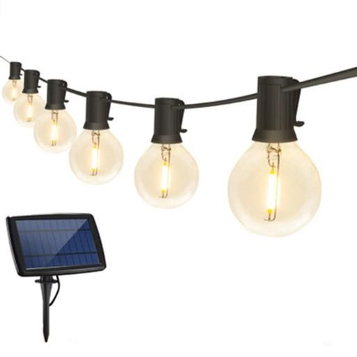 Girlandy Lampki Solarna żarówką Ogrodowa 10 LED